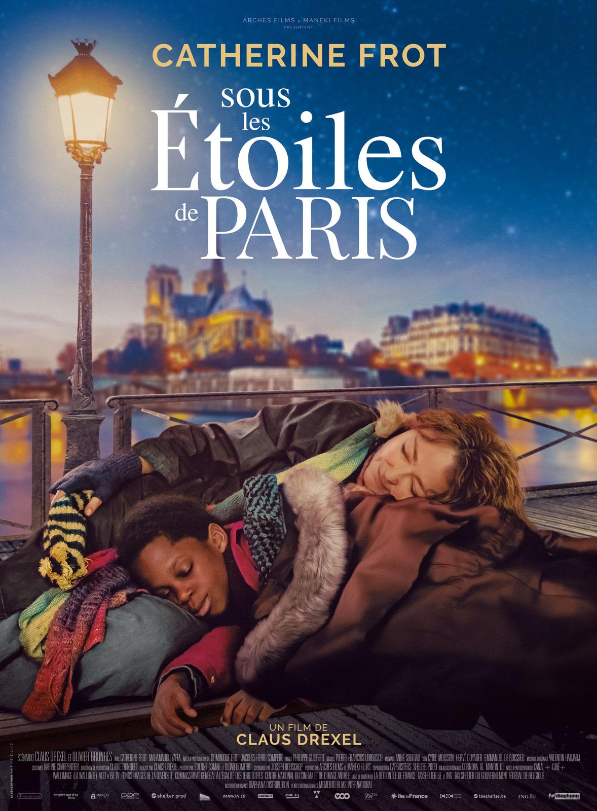 Affiche film Sous les étoiles de Paris