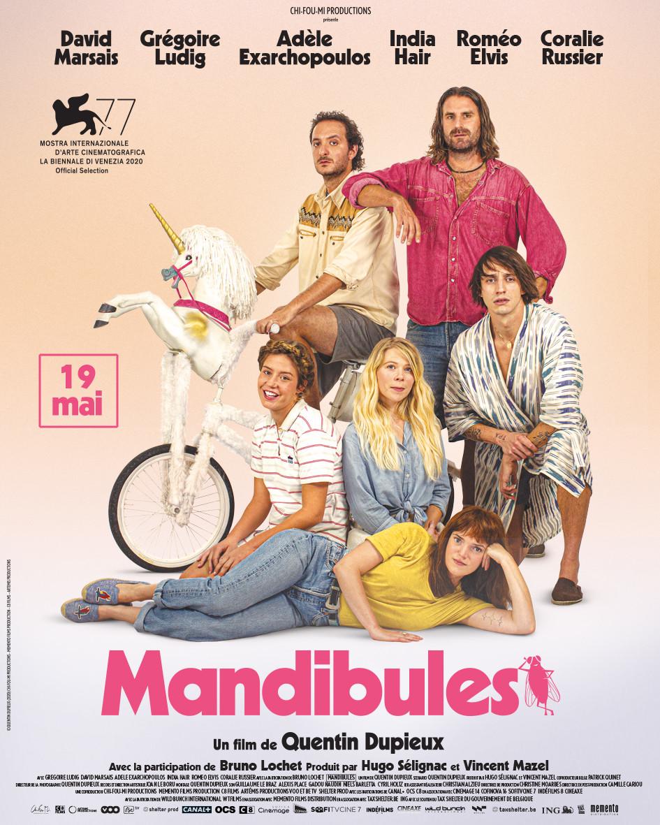 Affiche film Mandibules