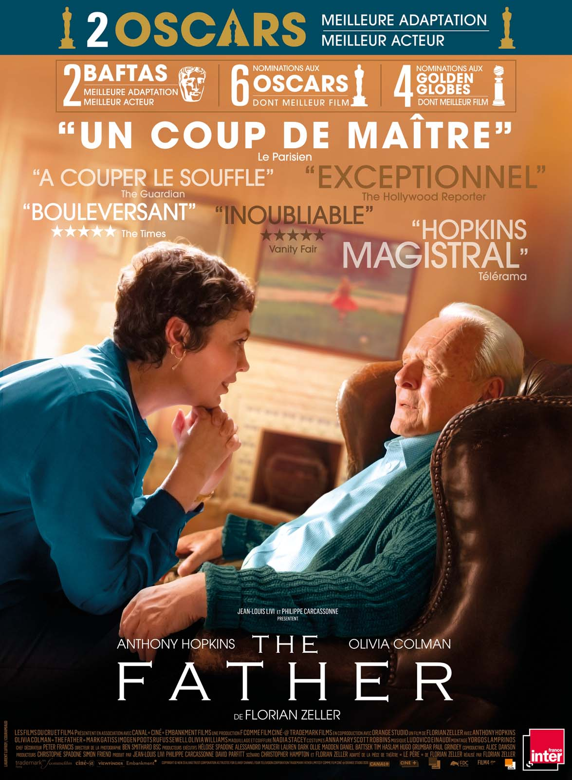 affiche film the father